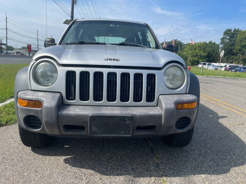 2004 Jeep Liberty for sale at Blue Star Cars in Jamesburg NJ
