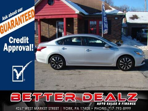2018 Nissan Altima for sale at Better Dealz Auto Sales & Finance in York PA