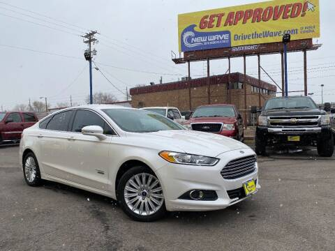 2016 Ford Fusion Energi for sale at New Wave Auto Brokers & Sales in Denver CO