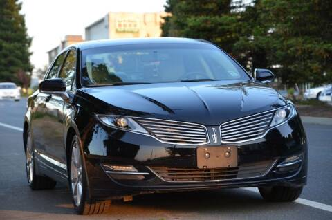 2016 Lincoln MKZ Hybrid for sale at Brand Motors llc in Belmont CA