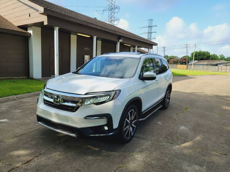 2020 Honda Pilot for sale at MOTORSPORTS IMPORTS in Houston TX