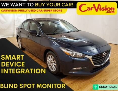2018 Mazda MAZDA3 for sale at Car Vision Mitsubishi Norristown - Car Vision Philly Used Car SuperStore in Philadelphia PA