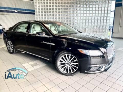 2017 Lincoln Continental for sale at iAuto in Cincinnati OH