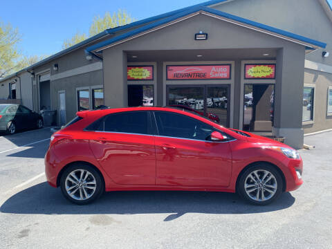 2013 Hyundai Elantra GT for sale at Advantage Auto Sales in Garden City ID