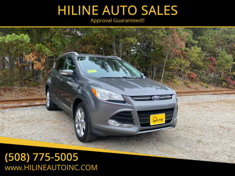 2014 Ford Escape for sale at HILINE AUTO SALES in Hyannis MA