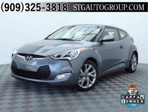 2017 Hyundai Veloster for sale at STG Auto Group in Montclair CA