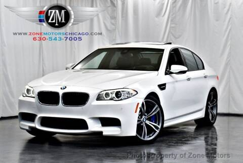 2013 BMW M5 for sale at ZONE MOTORS in Addison IL
