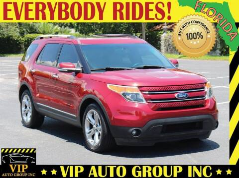 2014 Ford Explorer for sale at VIP Auto Group in Clearwater FL