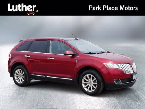 2015 Lincoln MKX for sale at Park Place Motor Cars in Rochester MN