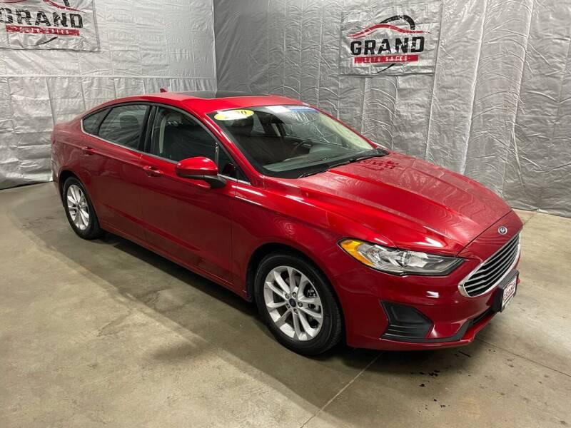 2020 Ford Fusion for sale at GRAND AUTO SALES in Grand Island NE
