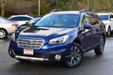 2017 Subaru Outback for sale at Mudarri Motorsports - Championship Motors in Redmond WA