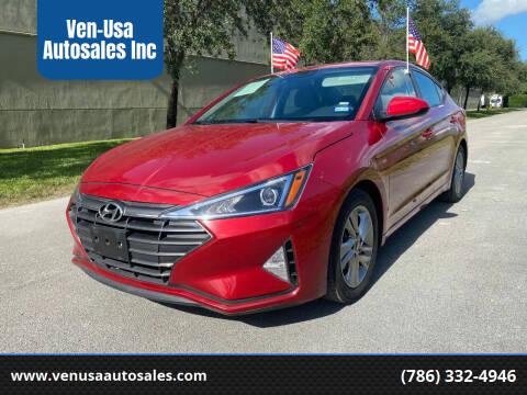 2019 Hyundai Elantra for sale at Ven-Usa Autosales Inc in Miami FL