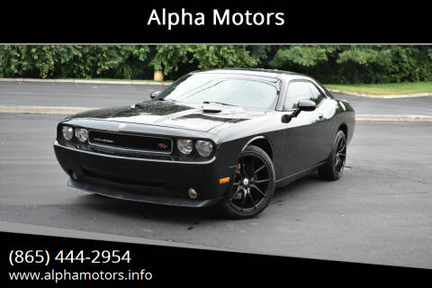 2010 Dodge Challenger for sale at Alpha Motors in Knoxville TN