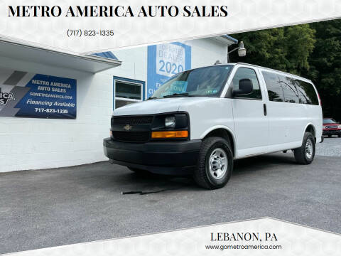2017 Chevrolet Express Passenger for sale at METRO AMERICA AUTO SALES of Lebanon in Lebanon PA