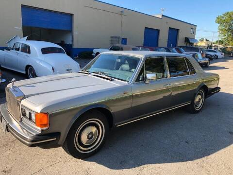 1982 Rolls-Royce Silver Spur for sale at Prestigious Euro Cars in Fort Lauderdale FL