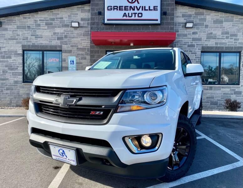 2017 Chevrolet Colorado for sale at GREENVILLE AUTO in Greenville WI