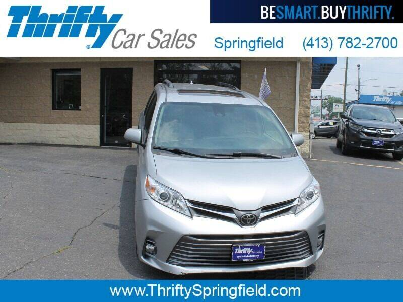 2019 Toyota Sienna for sale at Thrifty Car Sales Springfield in Springfield MA