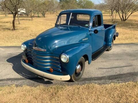 1952 Chevrolet 3100 for sale at STREET DREAMS TEXAS in Fredericksburg TX