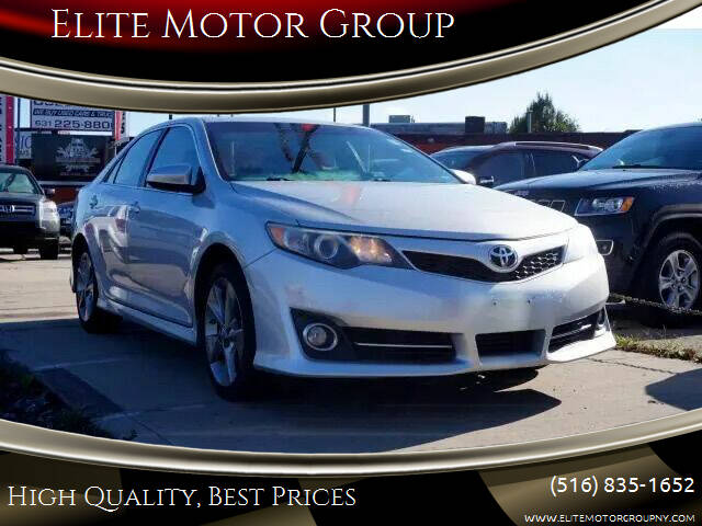 2012 Toyota Camry for sale at Elite Motor Group in Farmingdale NY