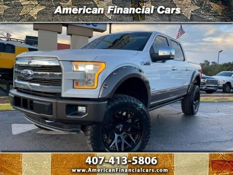 2015 Ford F-150 for sale at American Financial Cars in Orlando FL