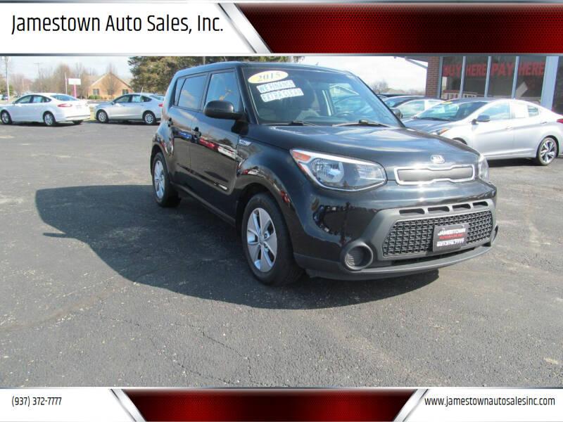 2015 Kia Soul for sale at Jamestown Auto Sales, Inc. in Xenia OH