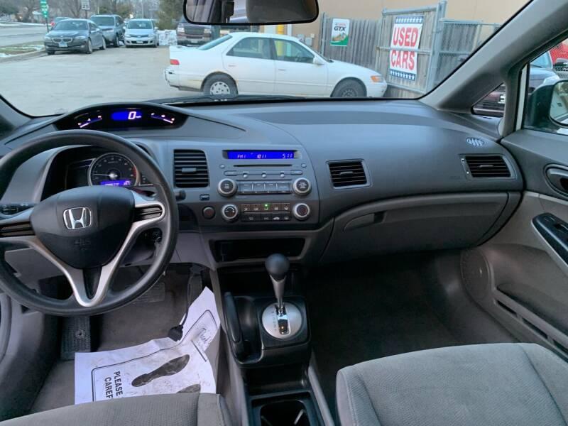 2010 Honda Civic VP 4dr Sedan 5A - Villa Park IL