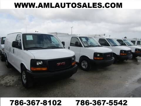 2005 Chevrolet Express Cargo for sale at AML AUTO SALES - Cargo Vans in Opa-Locka FL