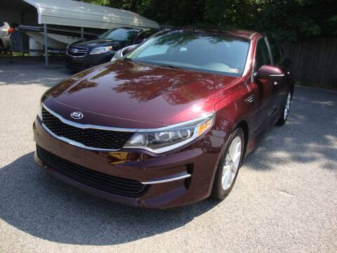2016 Kia Optima for sale at Easy Ride Auto Sales Inc in Chester VA
