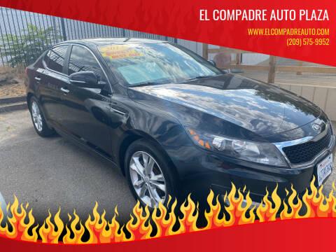 2013 Kia Optima for sale at El Compadre Auto Plaza in Modesto CA