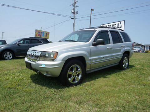 2003 Jeep Grand Cherokee for sale at CHAPARRAL USED CARS in Piney Flats TN