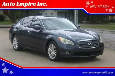 2011 Infiniti M37 for sale at Auto Empire Inc. in Murfreesboro TN