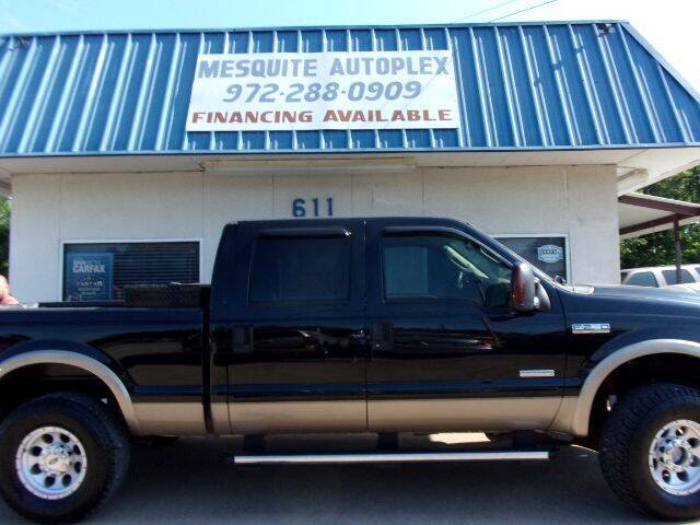 2005 Ford F-250 Super Duty for sale at MESQUITE AUTOPLEX in Mesquite TX