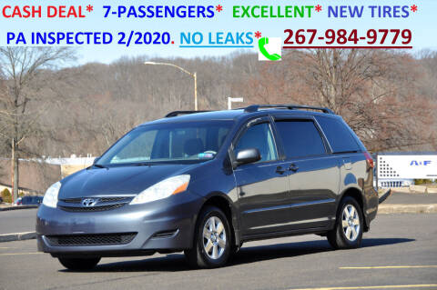 2008 Toyota Sienna for sale at T CAR CARE INC in Philadelphia PA