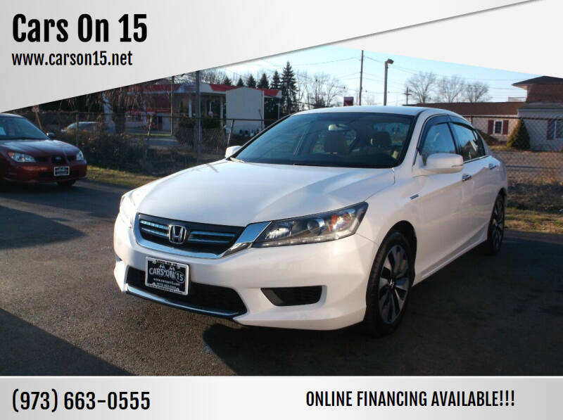 2014 Honda Accord Hybrid for sale at Cars On 15 in Lake Hopatcong NJ