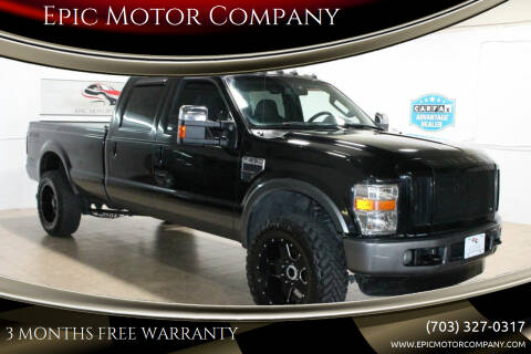 2009 Ford F-350 Super Duty for sale at Epic Motor Company in Chantilly VA
