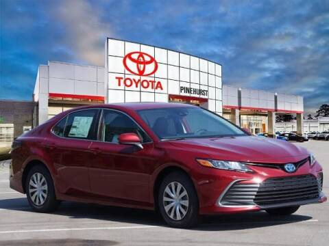 2022 Toyota Camry Hybrid for sale at PHIL SMITH AUTOMOTIVE GROUP - Pinehurst Toyota Hyundai in Southern Pines NC