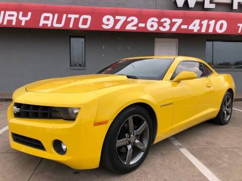 2013 Chevrolet Camaro for sale at Texas Luxury Auto in Cedar Hill TX
