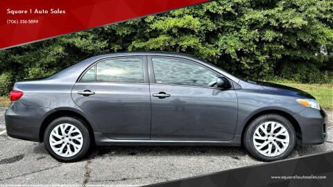 2013 Toyota Corolla for sale at Square 1 Auto Sales - Commerce in Commerce GA