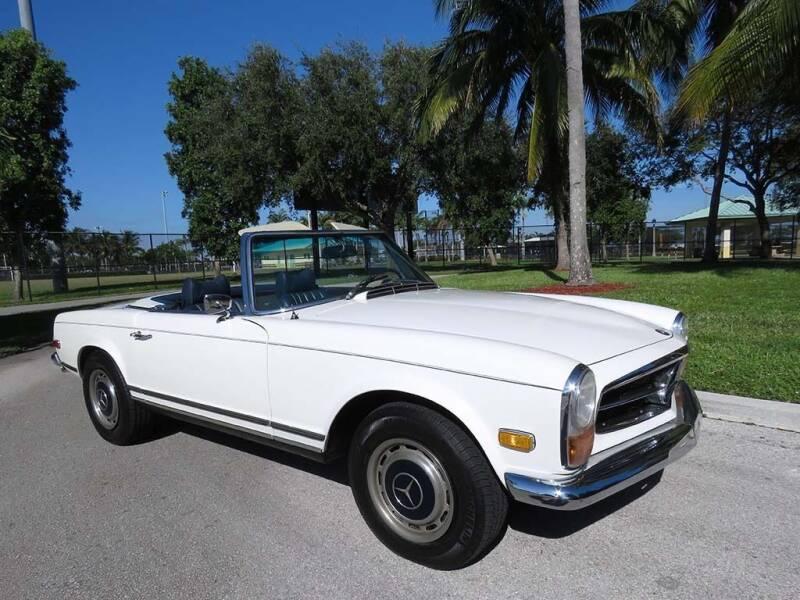 1970 Mercedes-Benz 280-Class for sale at Progressive Motors in Pompano Beach FL