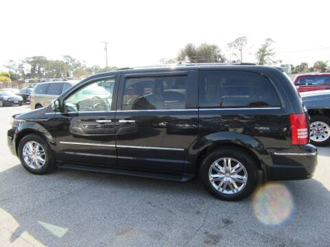 2010 Chrysler Town and Country for sale at ARENA AUTO SALES,  INC. in Holly Hill FL