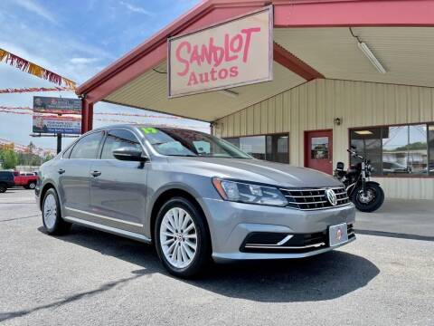 2017 Volkswagen Passat for sale at Sandlot Autos in Tyler TX