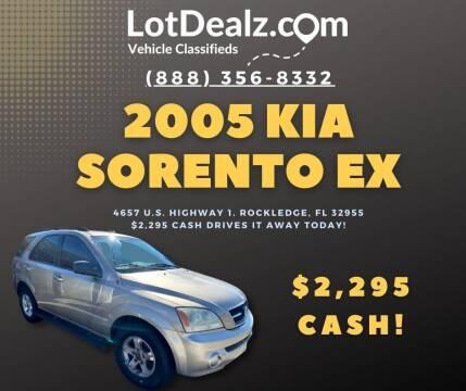 2005 Kia Sorento for sale at Lot Dealz in Rockledge FL