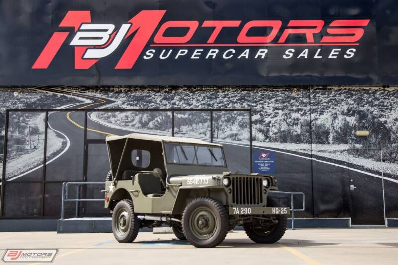 1943 Ford 4x4 for sale at BJ Motors in Tomball TX
