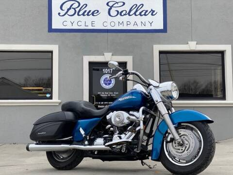 2005 Harley-Davidson Road King FLHRC for sale at Blue Collar Cycle Company in Salisbury NC