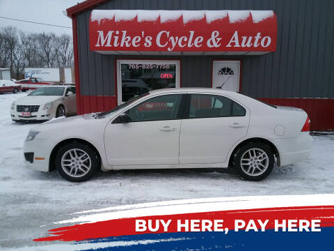 2011 Ford Fusion for sale at MIKE'S CYCLE & AUTO - Mikes Cycle and Auto (Liberty) in Liberty IN