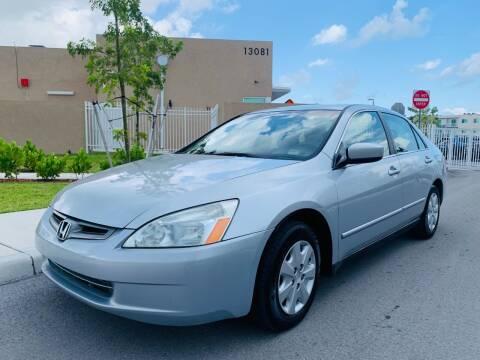 2004 Honda Accord for sale at LA Motors Miami in Miami FL