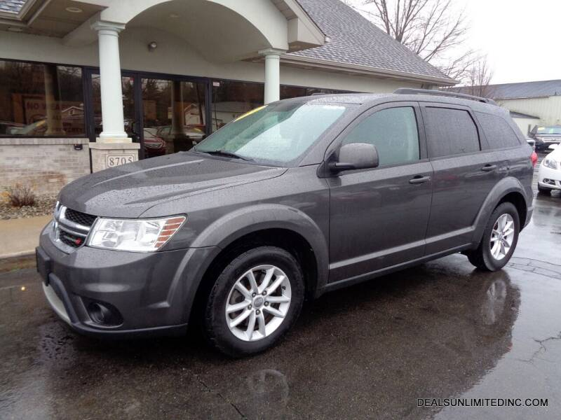 2016 Dodge Journey for sale at DEALS UNLIMITED INC in Portage MI