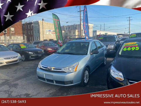 2009 Ford Focus for sale at Impressive Auto Sales in Philadelphia PA