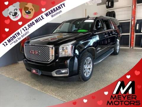 2016 GMC Yukon XL for sale at Meyer Motors in Plymouth WI