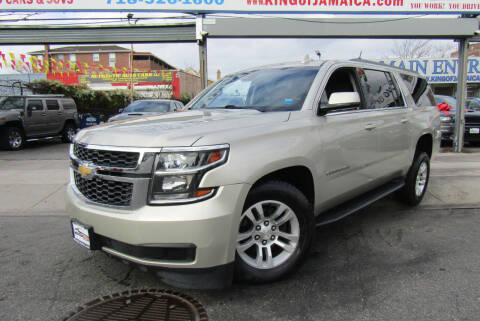 2017 Chevrolet Suburban for sale at MIKEY AUTO INC in Hollis NY